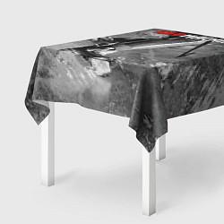 Скатерть для стола Red maсhine цвета 3D-принт — фото 2
