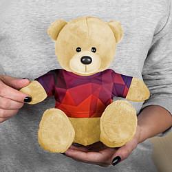 Игрушка-медвежонок Geometric цвета 3D-желтый — фото 2