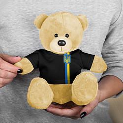 Игрушка-медвежонок Украина цвета 3D-желтый — фото 2