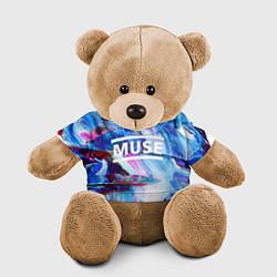 Игрушка-медвежонок MUSE: Blue Colours цвета 3D-коричневый — фото 1