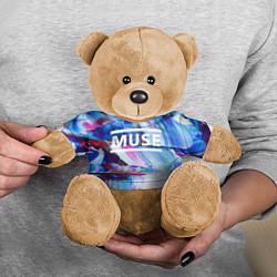 Игрушка-медвежонок MUSE: Blue Colours цвета 3D-коричневый — фото 2