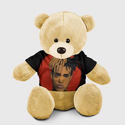 Игрушка-медвежонок XXXTentacion: Red Sun цвета 3D-желтый — фото 1