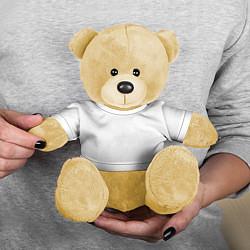 Игрушка-медвежонок Без дизайна цвета 3D-желтый — фото 2
