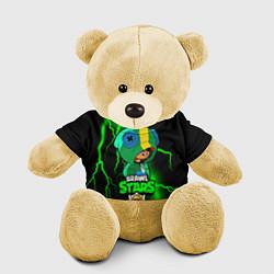 Игрушка-медвежонок Brawl Stars LEON цвета 3D-желтый — фото 1