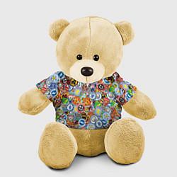 Игрушка-медвежонок Английская Премьер Лига цвета 3D-желтый — фото 1