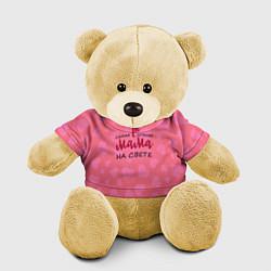 Игрушка-медвежонок Лучшая мама цвета 3D-желтый — фото 1