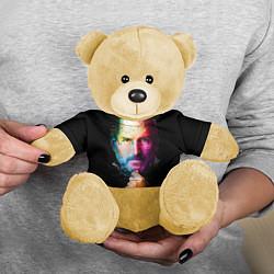 Игрушка-медвежонок Стив Джобс цвета 3D-желтый — фото 2