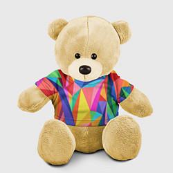 Игрушка-медвежонок Радуга цвета 3D-желтый — фото 1