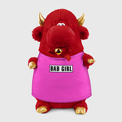 Игрушка-бычок BAD GIRL цвета 3D-красный — фото 1