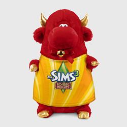 Игрушка-бычок The Sims: Roaring Heights цвета 3D-красный — фото 1