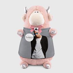 Игрушка-бычок T-Fest: Grey Style цвета 3D-светло-розовый — фото 1