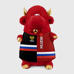 Игрушка-бычок Irkutsk, Russia цвета 3D-красный — фото 1