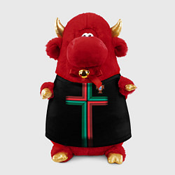 Игрушка-бычок Сборная Португалии: Альтернатива ЧМ-2018 цвета 3D-красный — фото 1