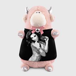 Игрушка-бычок Sexy Girl: Black & White цвета 3D-светло-розовый — фото 1