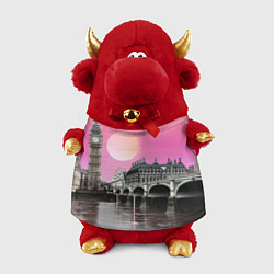 Игрушка-бычок Закат в Великобритании цвета 3D-красный — фото 1
