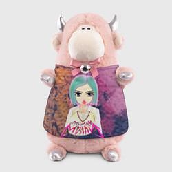 Игрушка-бычок Пошлая Молли Арт цвета 3D-светло-розовый — фото 1
