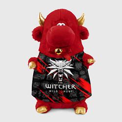 Игрушка-бычок ВЕДЬМАК цвета 3D-красный — фото 1