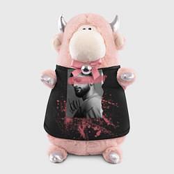 Игрушка-бычок JONY цвета 3D-светло-розовый — фото 1