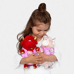 Игрушка-бычок Урарака Очако цвета 3D-красный — фото 2