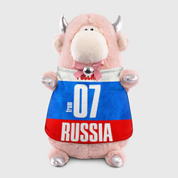 Игрушка-бычок Russia: from 07 цвета 3D-светло-розовый — фото 1