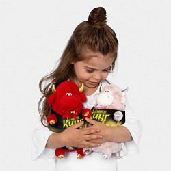 Игрушка-бычок Стивен Кинг думает цвета 3D-красный — фото 2
