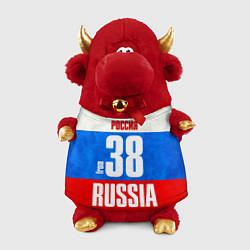 Игрушка-бычок Russia: from 38 цвета 3D-красный — фото 1