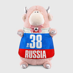 Игрушка-бычок Russia: from 38 цвета 3D-светло-розовый — фото 1