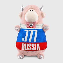 Игрушка-бычок Russia: from 777 цвета 3D-светло-розовый — фото 1