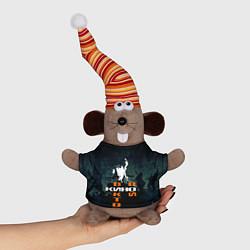 Игрушка-мышка Виктор Цой цвета 3D-серый — фото 1