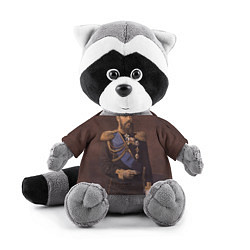 Игрушка-енот Александр III Миротворец цвета 3D-серый — фото 1