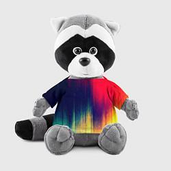 Игрушка-енот Stylize color цвета 3D-серый — фото 1