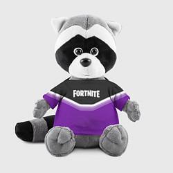 Игрушка-енот Fortnite Violet цвета 3D-серый — фото 1