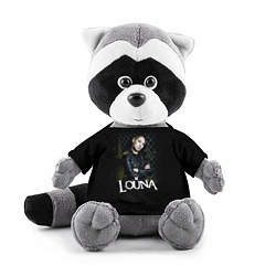 Игрушка-енот Louna: Lusine Gevorkyan цвета 3D-серый — фото 1