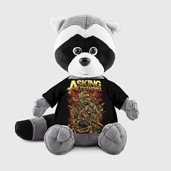 Игрушка-енот Asking Alexandria цвета 3D-серый — фото 1