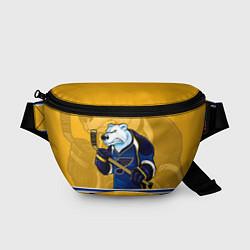 Поясная сумка St. Louis Blues цвета 3D-принт — фото 1