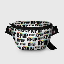 Поясная сумка K-pop Pattern цвета 3D-принт — фото 1