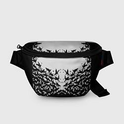 Поясная сумка Птичий вихрь цвета 3D — фото 1