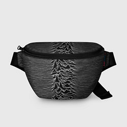 Поясная сумка Joy Division: Unknown Pleasures цвета 3D-принт — фото 1