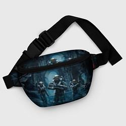 Поясная сумка Halo wars цвета 3D-принт — фото 2