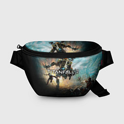 Поясная сумка Titanfall Battle цвета 3D — фото 1