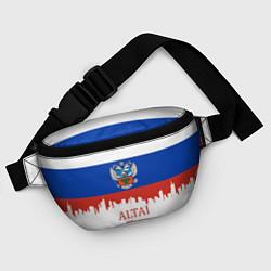 Поясная сумка Altai: Russia цвета 3D-принт — фото 2