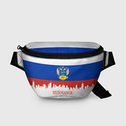 Поясная сумка Murmansk: Russia цвета 3D-принт — фото 1