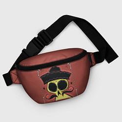 Поясная сумка Dia de los Muertos цвета 3D-принт — фото 2
