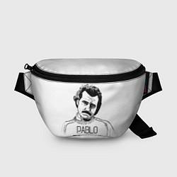 Поясная сумка Pablo Escobar цвета 3D-принт — фото 1