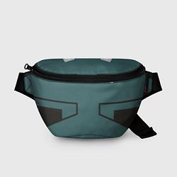 Поясная сумка MHA IZUKU MIDORIYA цвета 3D-принт — фото 1