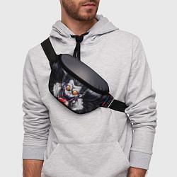 Поясная сумка Рюк с сердцем цвета 3D — фото 2