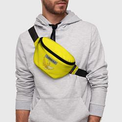 Поясная сумка Brazzers: Yellow Banana цвета 3D-принт — фото 2