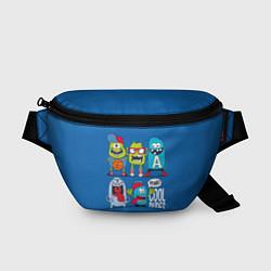 Поясная сумка Cool Dudes цвета 3D-принт — фото 1
