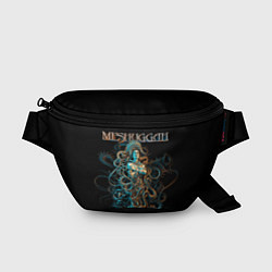 Поясная сумка Meshuggah: Violent Sleep цвета 3D-принт — фото 1