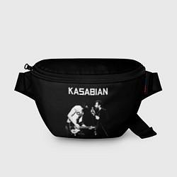 Поясная сумка Kasabian Rock цвета 3D-принт — фото 1
